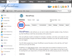 softaculous_wordpress_install